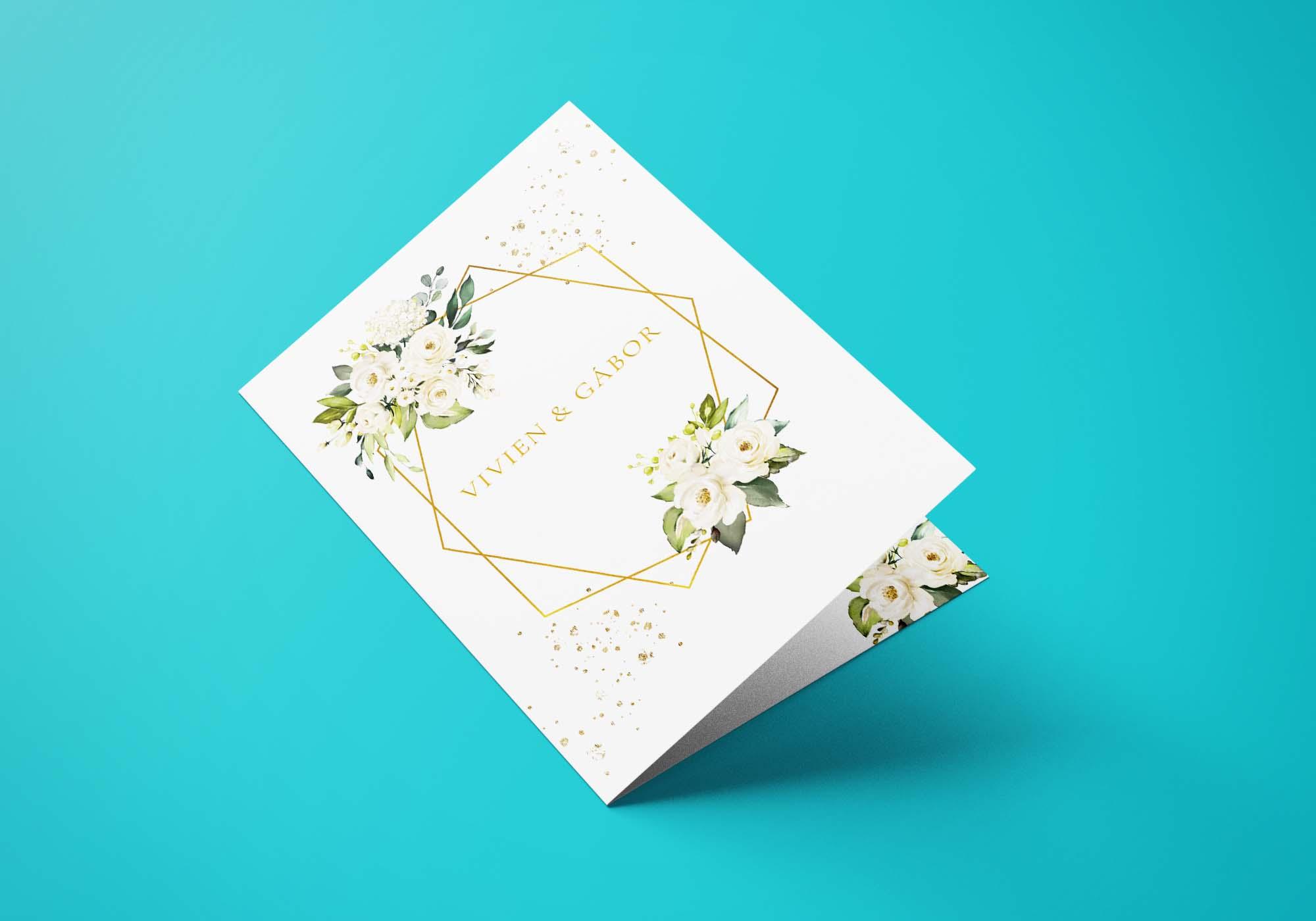 Esküvői Egyedi Meghívó