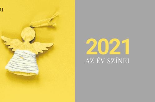Bemutatta a Pantone a 2021-es év színeit
